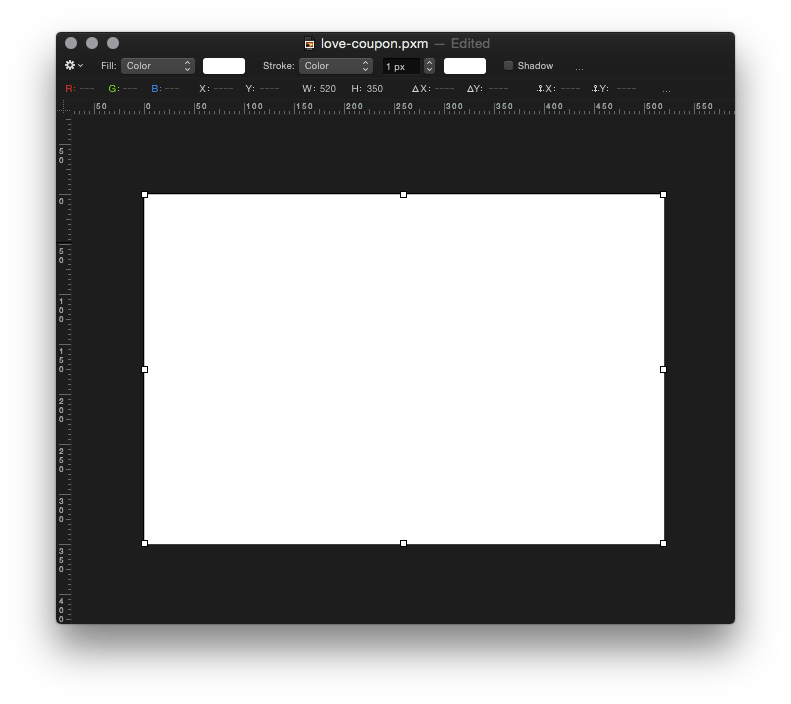 Coupon border png. Pixelmator tip how to