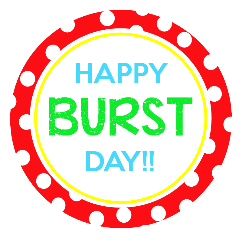 Wow clipart starburst. Quick easy birthday gift