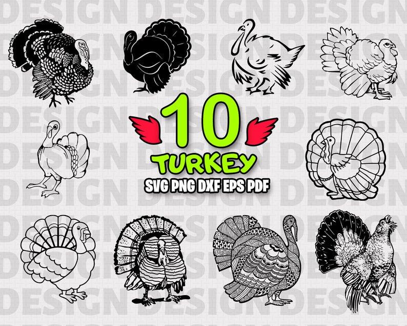 Turkey svg cut file. Coupon clipart birthday mandarin