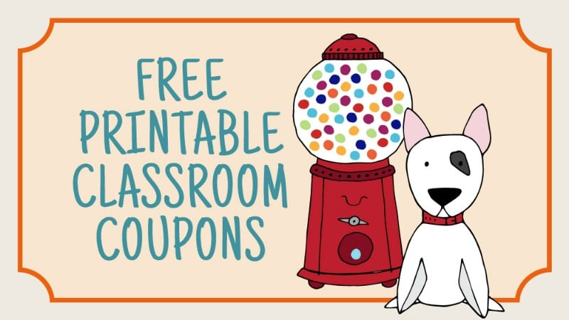Printable classroom coupons your. Coupon clipart make money