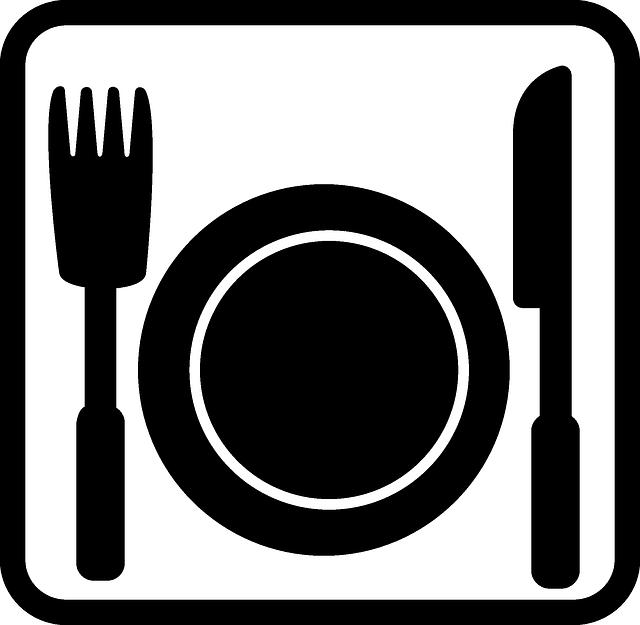 Restaurant hosting biznearme online. Diner clipart clip art