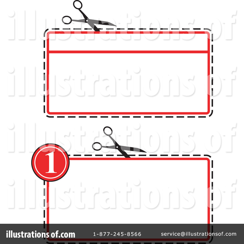 Coupon clipart sample. Illustration by patrimonio