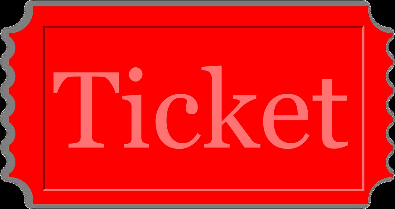 raffle clipart museum ticket