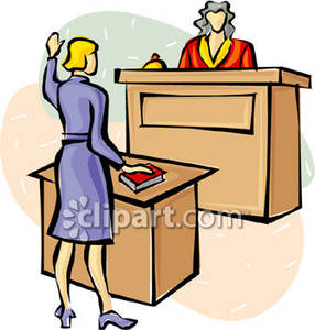Court clipart. Trial