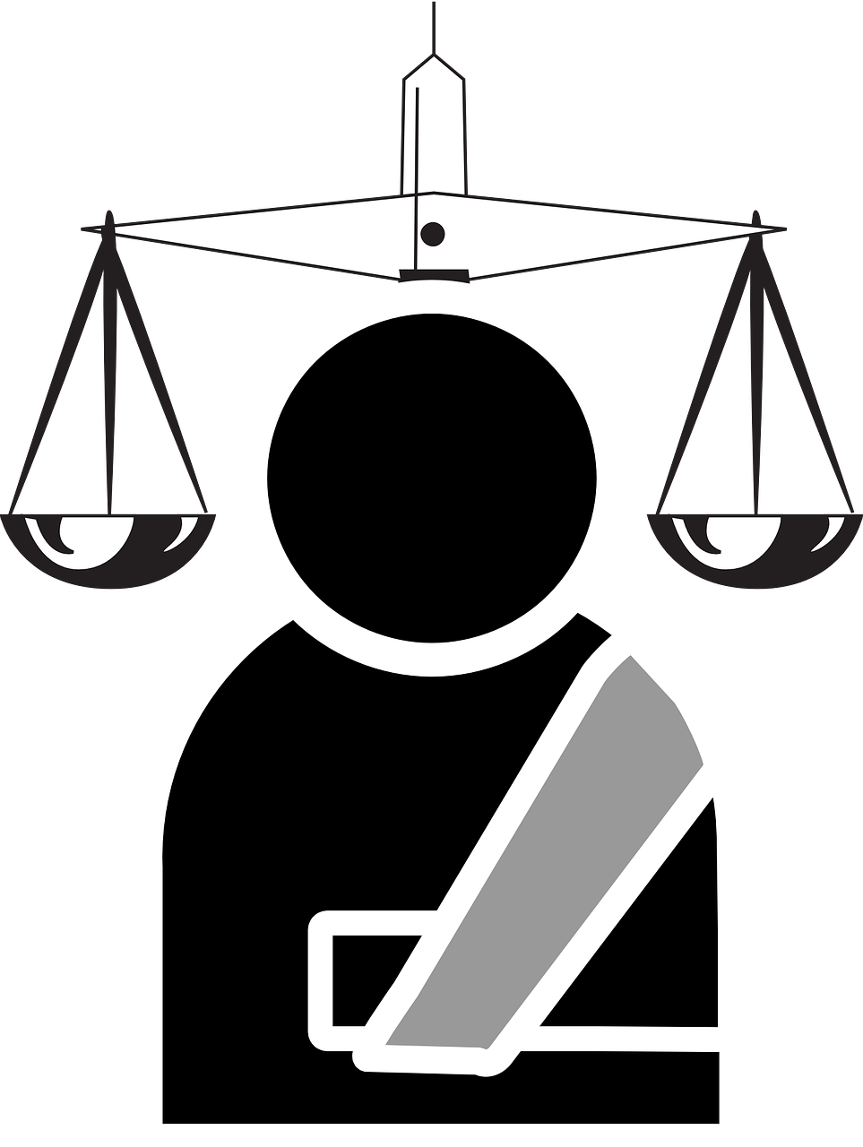 Court clipart black and white. Contingent workforce strategies ruling