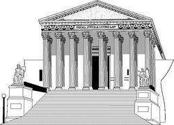 clip art clipartlook. Court clipart building supreme court