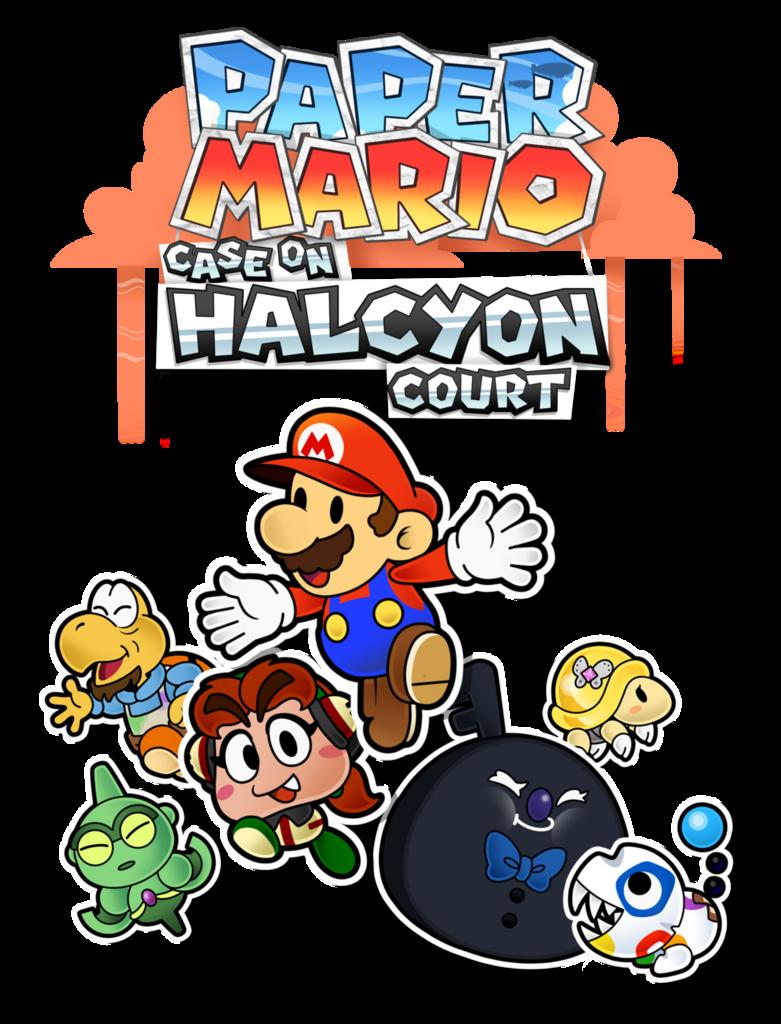 Court clipart court case. Paper mario on halcyon