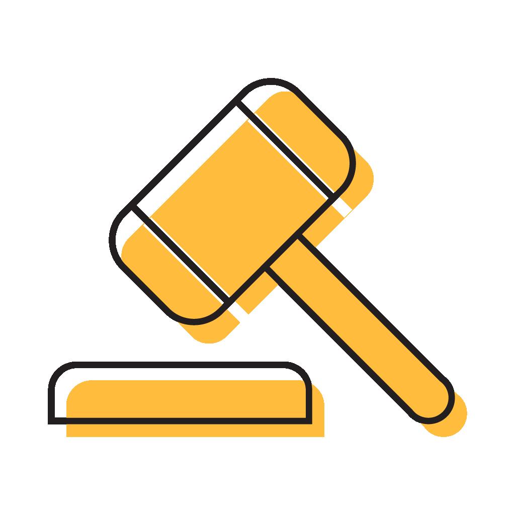 The process sentencing. Court clipart court case