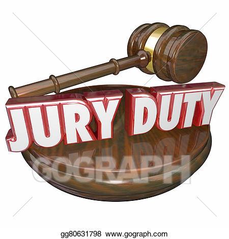 Gavel clipart jury. Drawing duty judge court