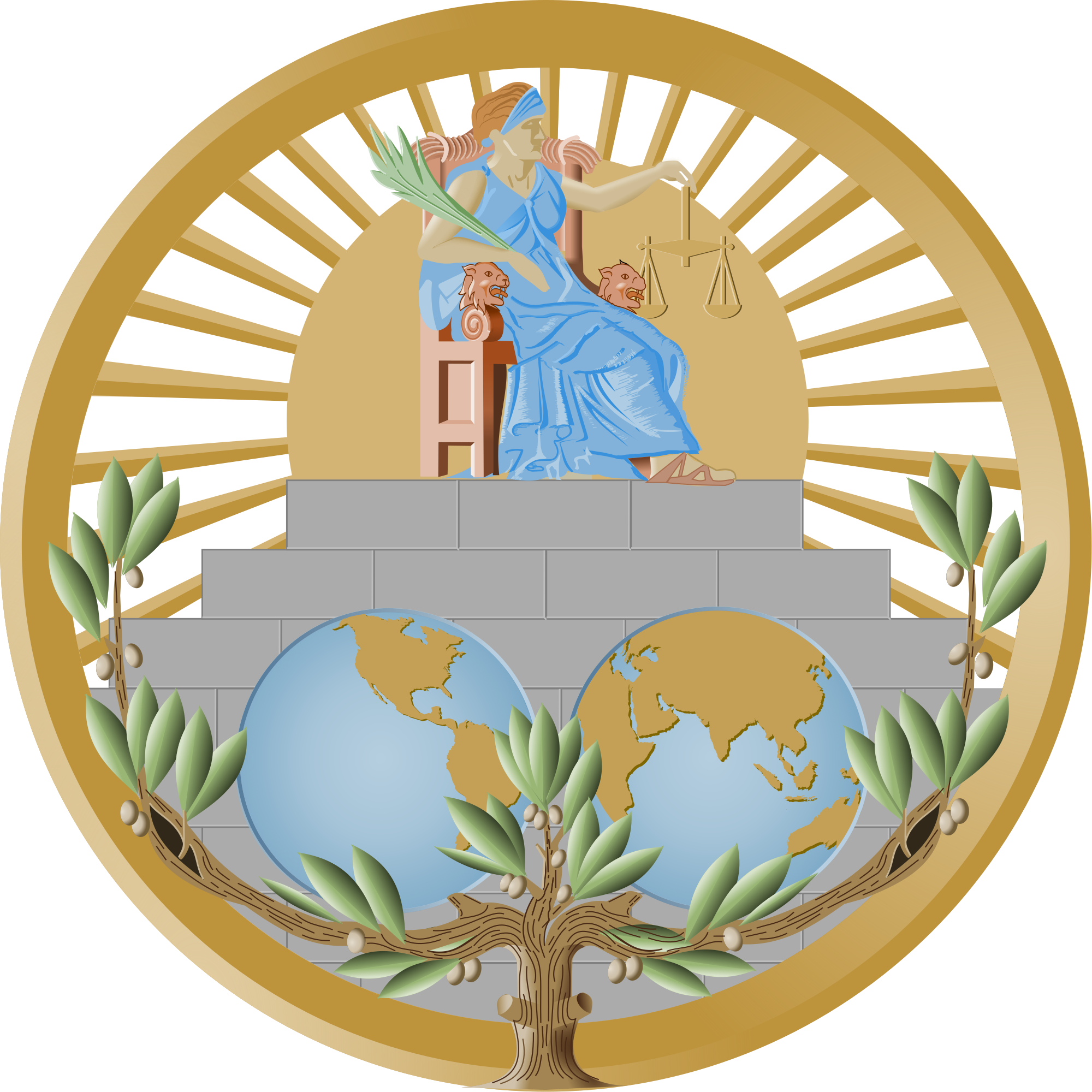 File international of seal. Court clipart court justice