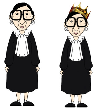 Justice clipart justice supreme court. The notorious rbg ruth