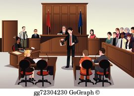 Courthouse clipart trial court. Courtroom clip art royalty