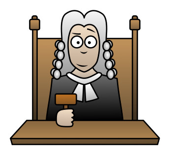 Free cartoon download clip. Judge clipart judge british