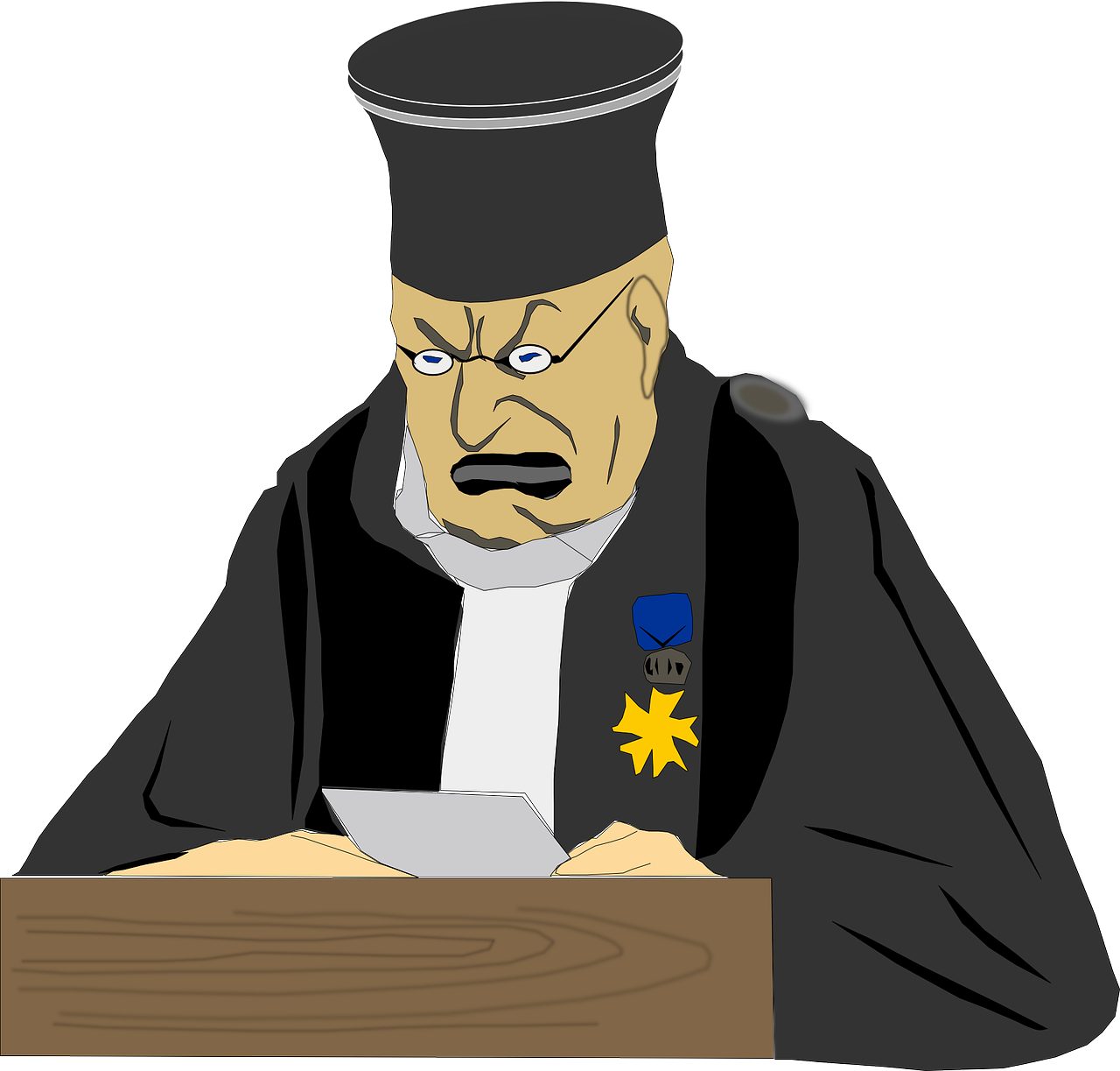 Supreme court judges support. Justice clipart law book