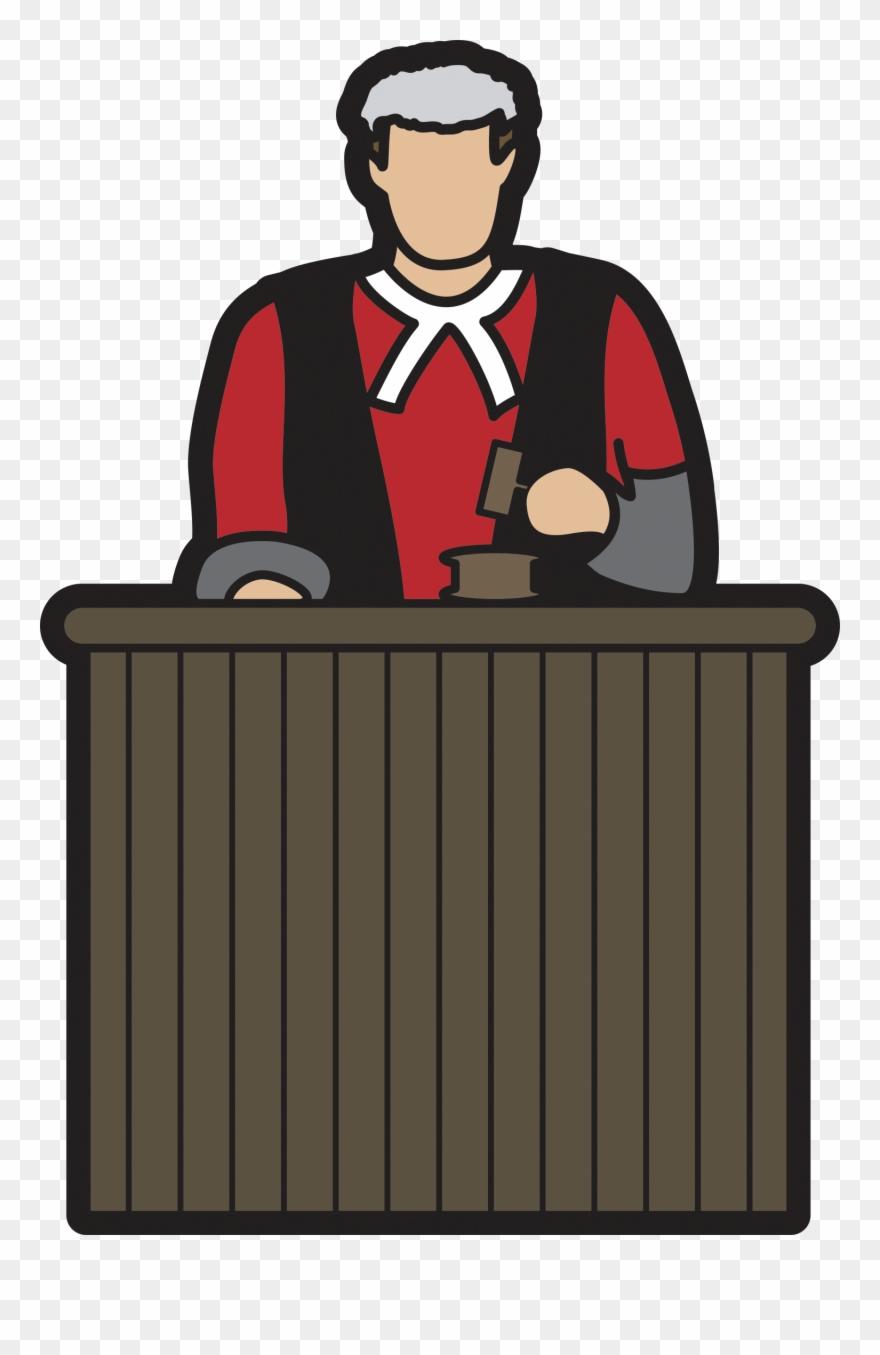 Images for court cartoon. Judge clipart desk