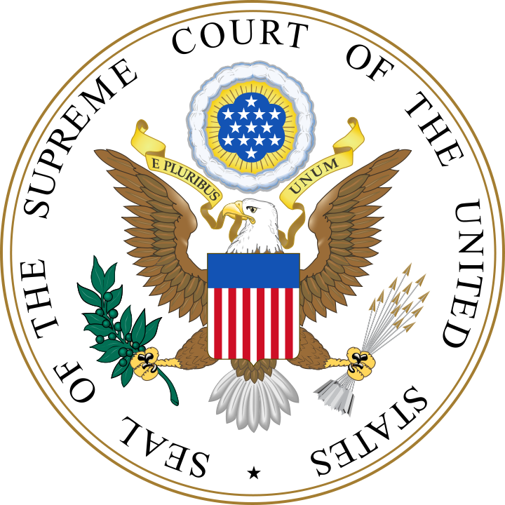Seal of the united. Criminal clipart justice supreme court