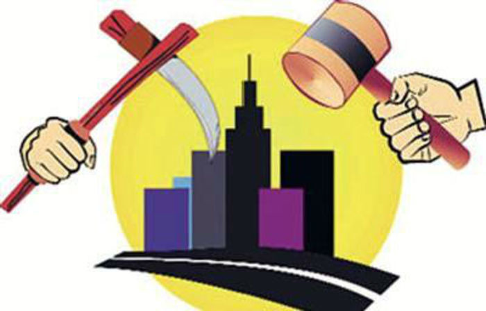 Greater noida all buildings. Court clipart illegal construction