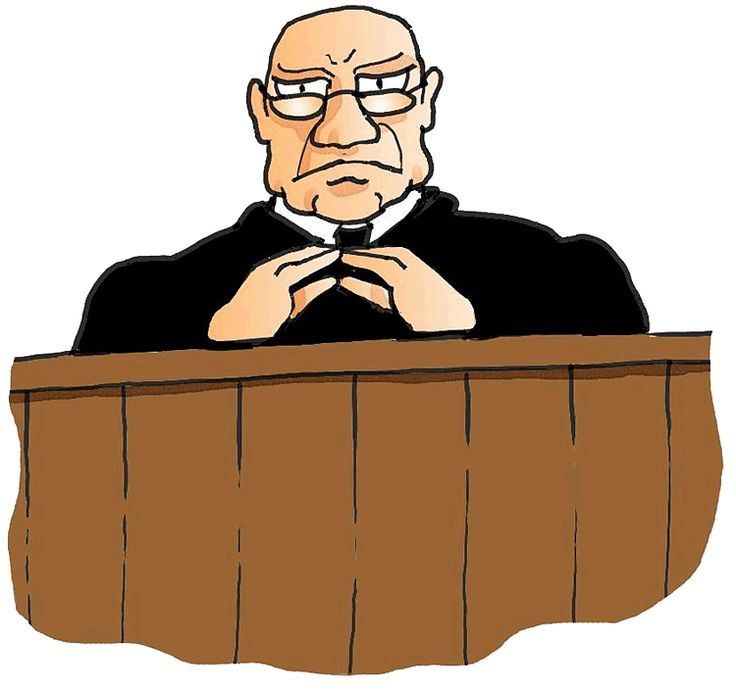 Free download best . Judge clipart courtroom judge