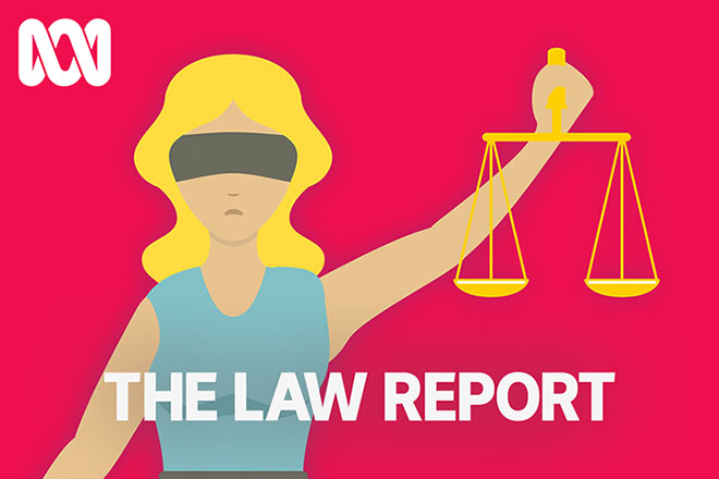 Court clipart legal study. Law report abc radio