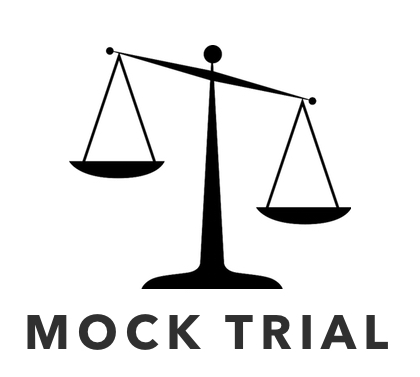 Display event competition . Justice clipart mock trial