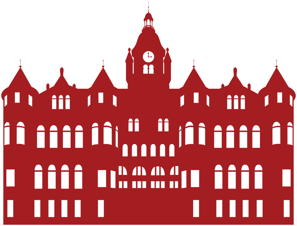 History labs old museum. Palace clipart red castle