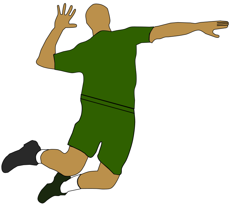 Court clipart person. Volleyball free download best