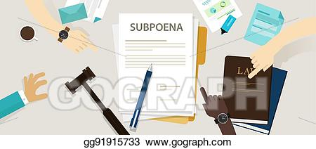Eps vector subpoena ordering. Court clipart person
