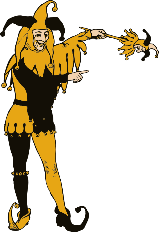 Jester medium image png. Court clipart person