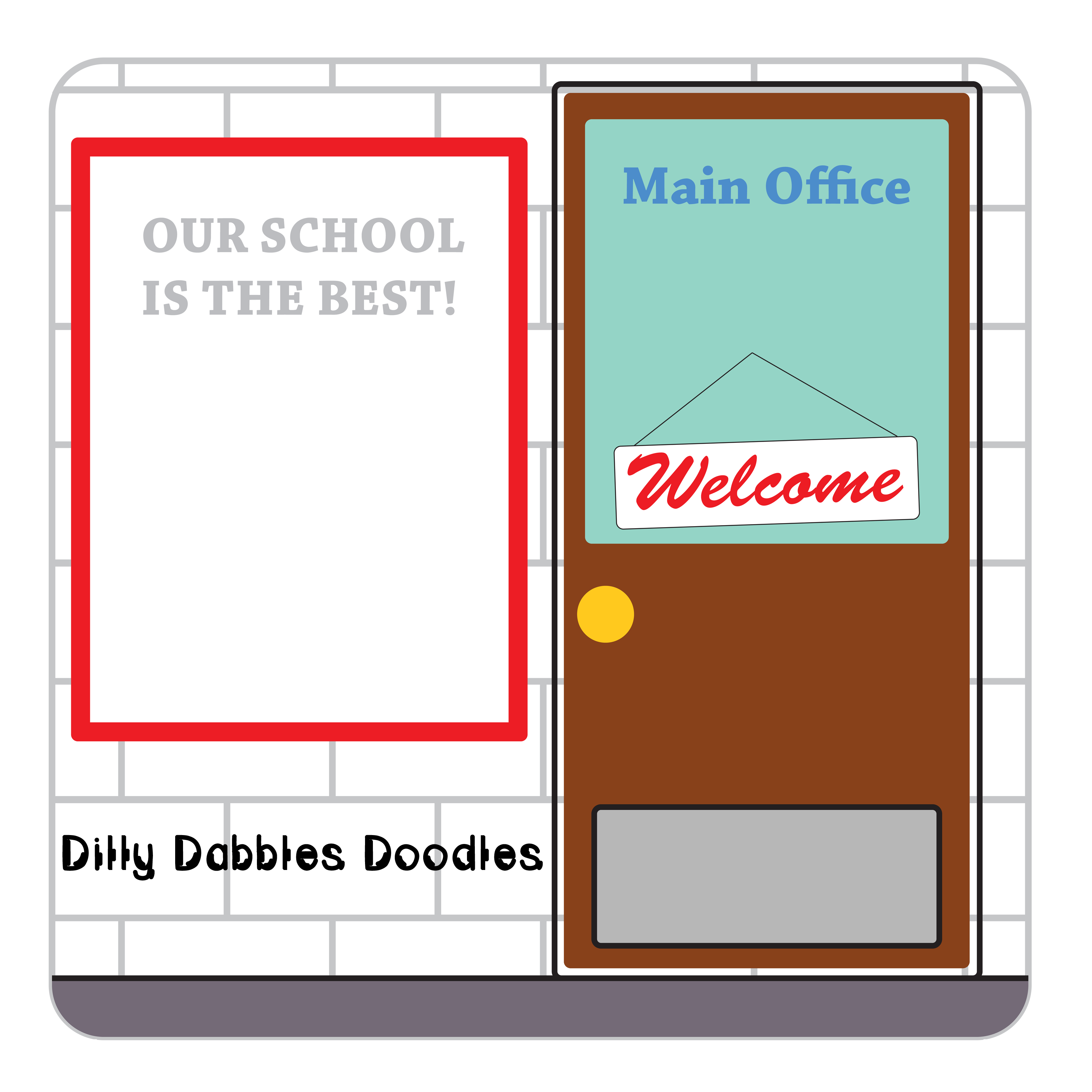 collection of main. Path clipart school clipart