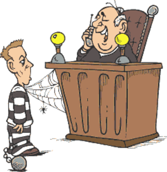 Jurisdictionary . Court clipart sentencing