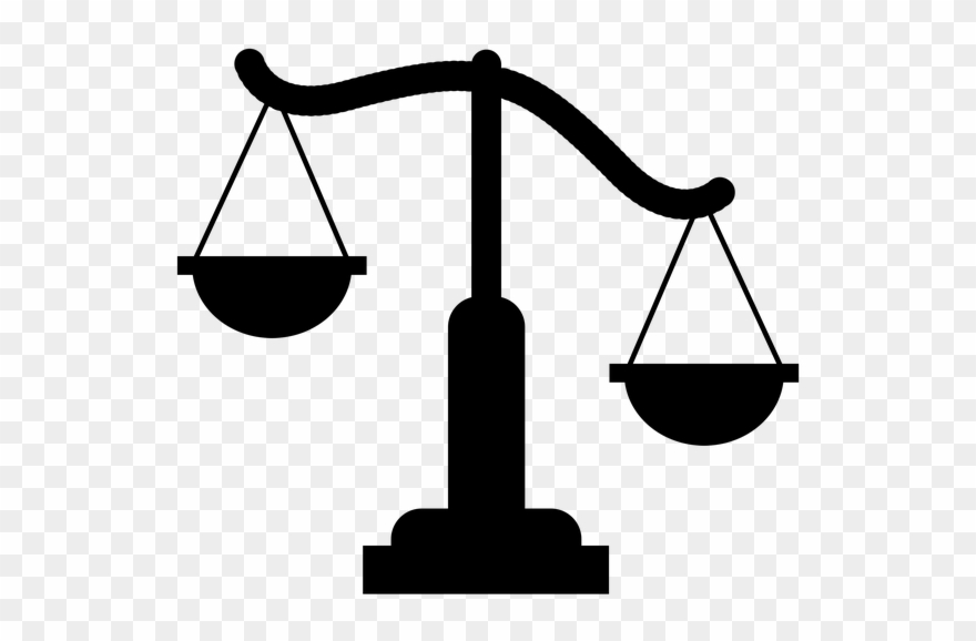 Weight clipart clear background. Libra judge the court