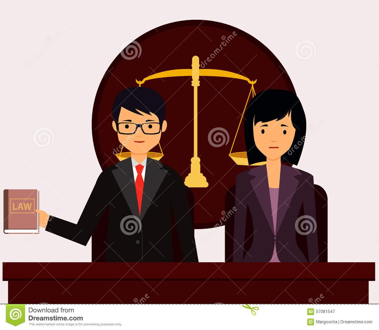 Court clipart tribunal. Lawyer in panda free