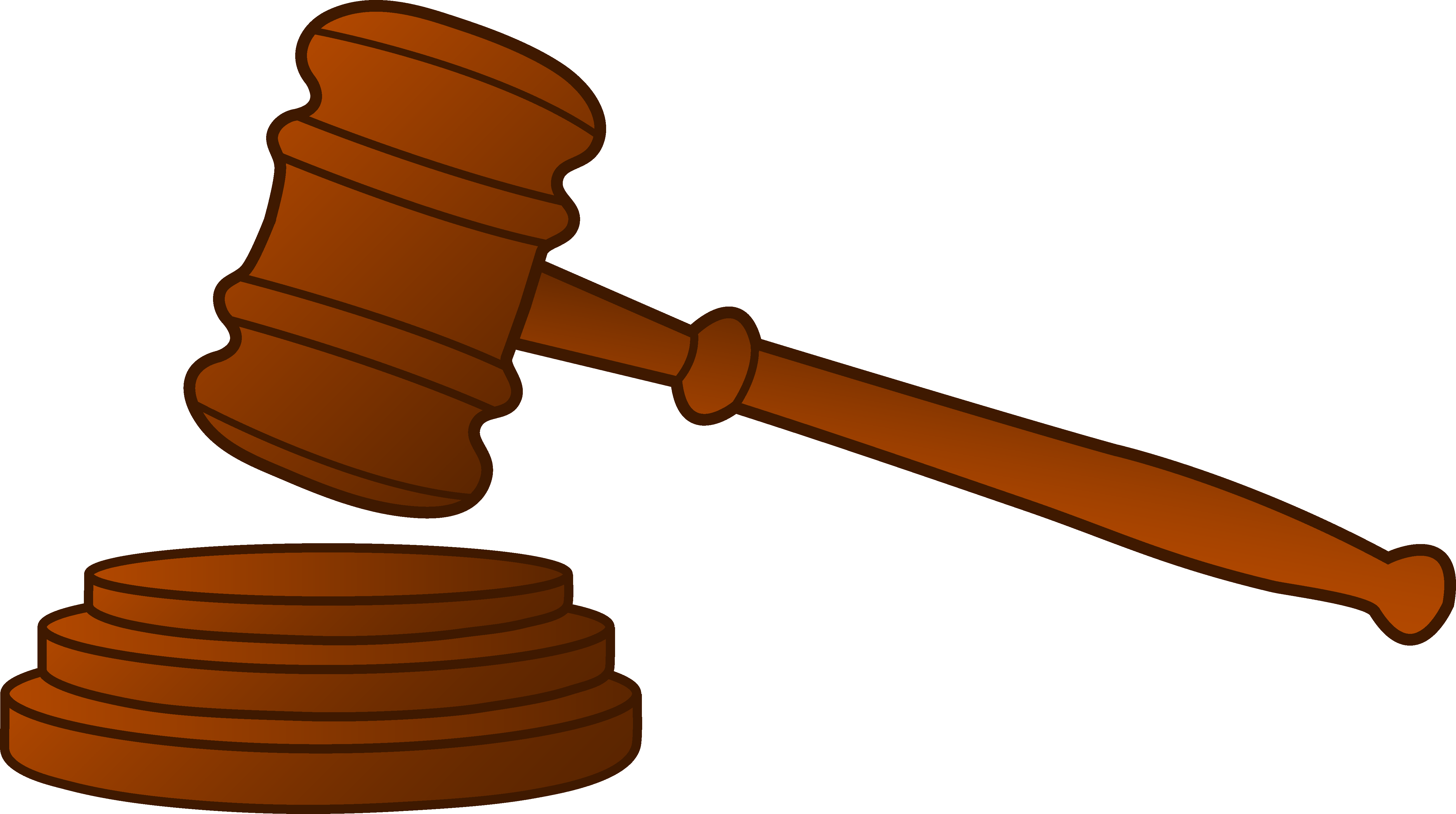 Court clipart. Wooden gavel free clip