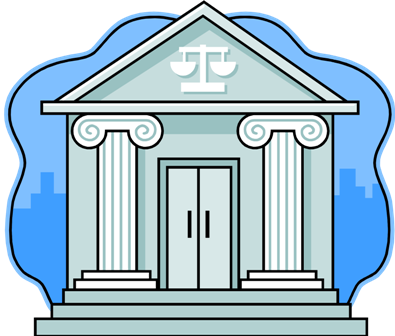 The top best blogs. Courthouse clipart
