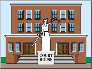 Courthouse clipart court building. Clip art buildings house