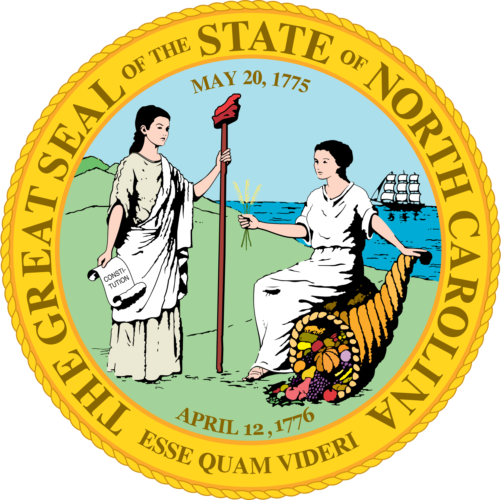 Courthouse clipart embassy. File northcarolina stateseal svg