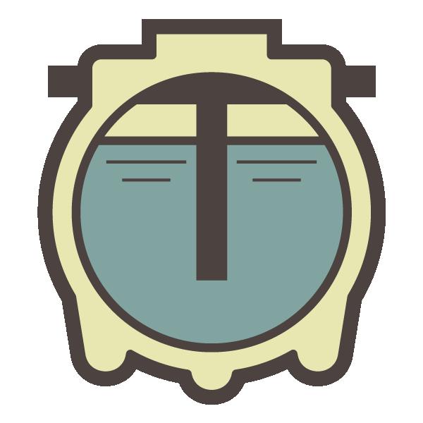 Gordon s septic tank. Courthouse clipart icon