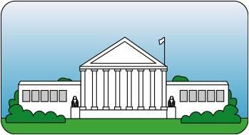 Courthouse clipart judiciary. Judicial gclipart com