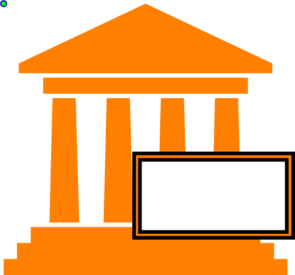 Government clipart courthouse. Hot orange clip art
