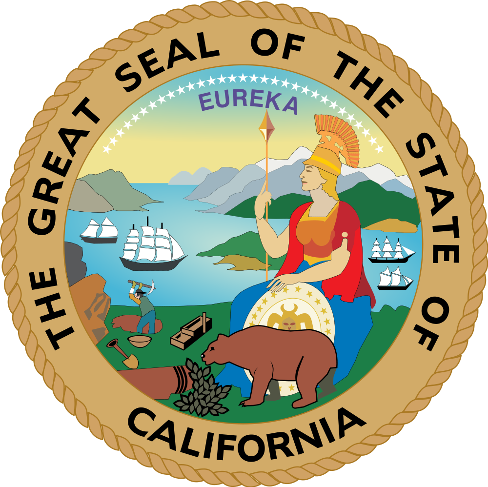 Missions clipart calif. File seal of california