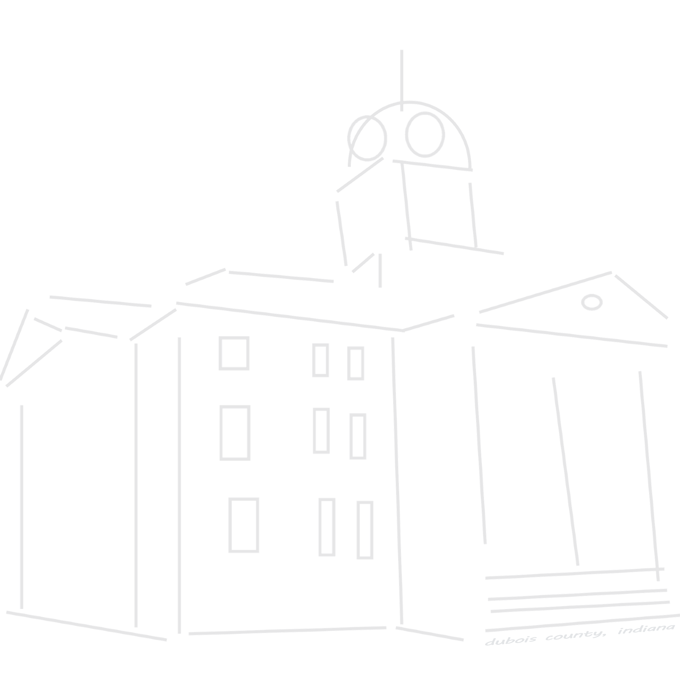 Government clipart courthouse. Dubois county always indiana
