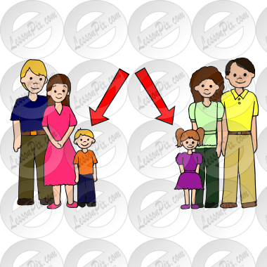 Picture for classroom therapy. Cousins clipart