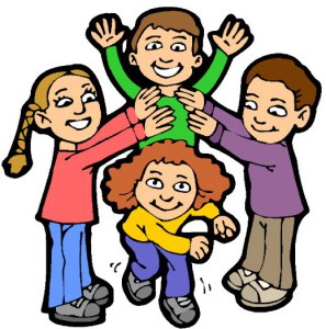 Cousins clipart. Sharing the love of