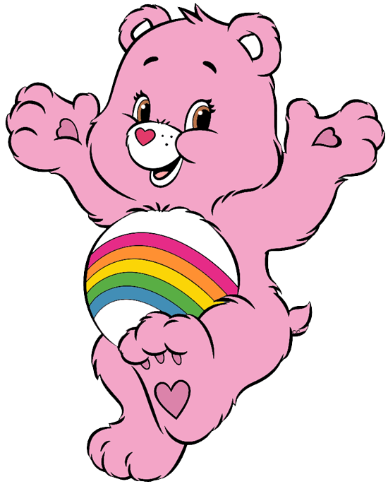 Cousins clipart. Care bears and clip