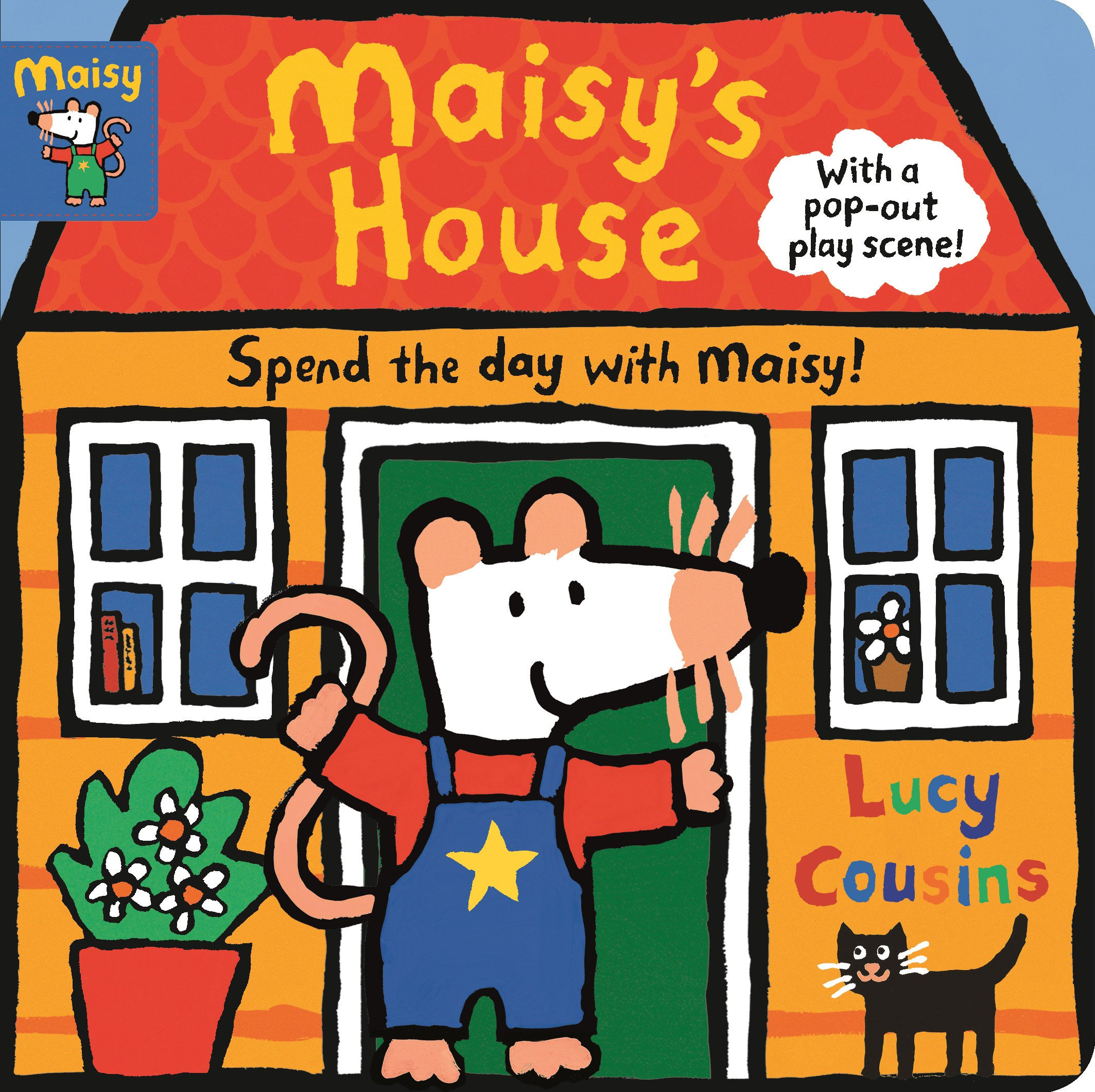 Cousins clipart childrens play. Maisy s house complete