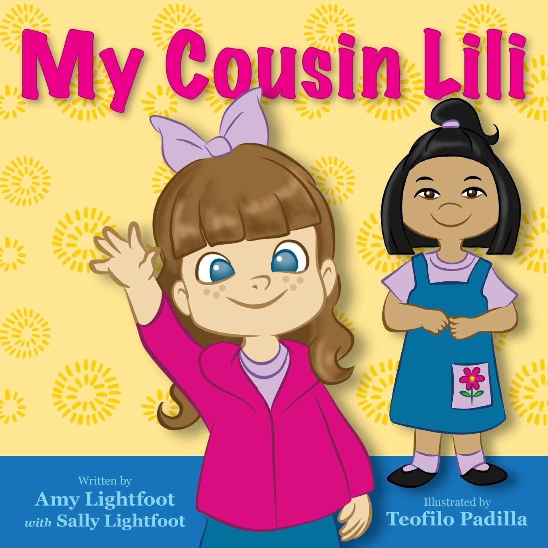 Cousins clipart five child. My cousin lili amy