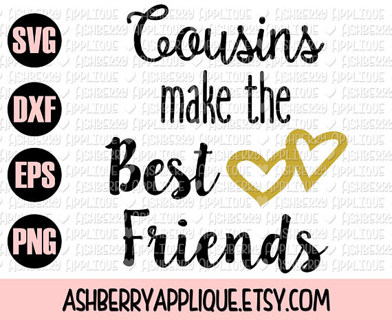 Pin on products . Cousins clipart friend