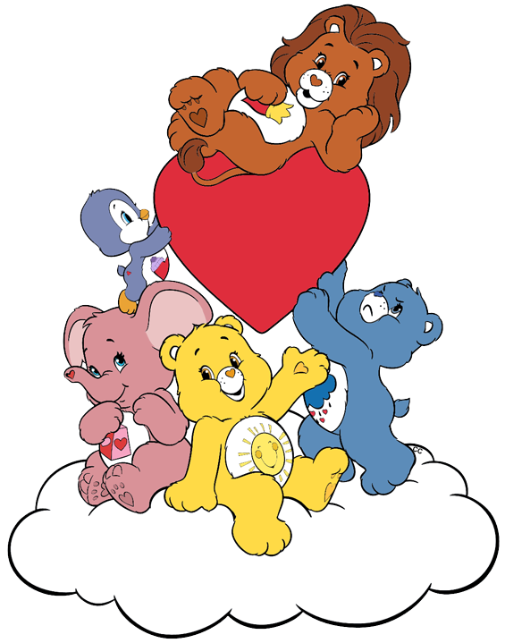Cousins clipart friend. Care bears and clip