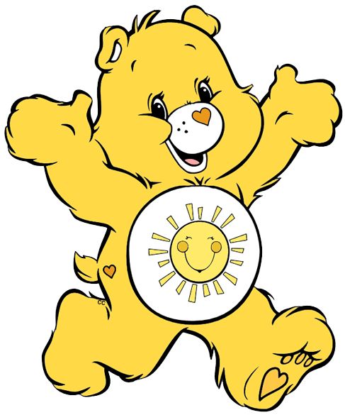 Care bears and clip. Cousins clipart friend