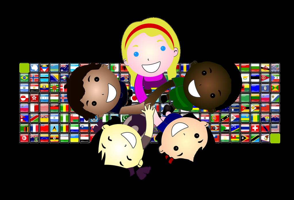 Cousins clipart group child. Global asia blog children